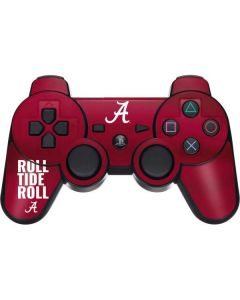 Alabama Roll Tide Roll PS3 Dual Shock wireless controller Skin