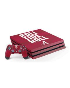 Alabama Roll Tide Roll PS4 Pro Bundle Skin
