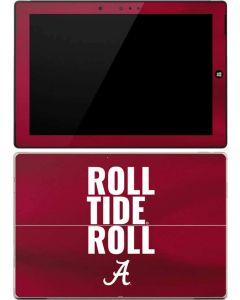Alabama Roll Tide Roll Surface 3 Skin