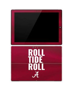 Alabama Roll Tide Roll Surface Pro 3 Skin