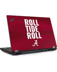 Alabama Roll Tide Roll Lenovo ThinkPad Skin