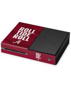 Alabama Roll Tide Roll Xbox One Console Skin
