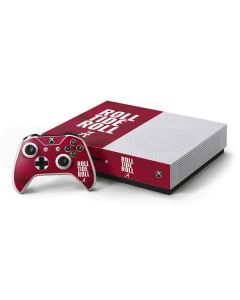 Alabama Roll Tide Roll Xbox One S Console and Controller Bundle Skin