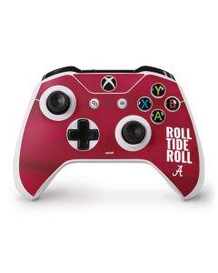Alabama Roll Tide Roll Xbox One S Controller Skin