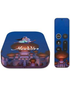 Aladdin and Jasmine Magic Carpet Apple TV Skin