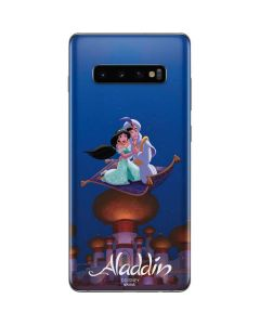 Aladdin and Jasmine Magic Carpet Galaxy S10 Plus Skin