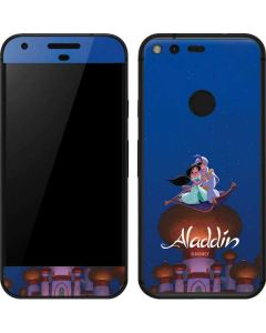 Aladdin and Jasmine Magic Carpet Google Pixel Skin