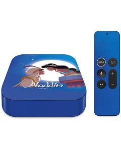 Aladdin and Princess Jasmine Apple TV Skin