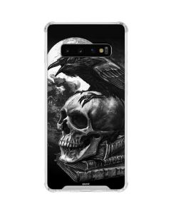 Alchemy - Poe's Raven Galaxy S10 Clear Case