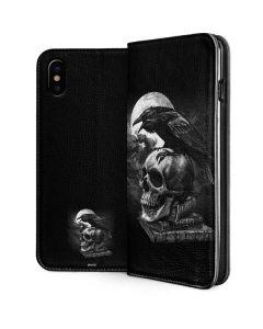 Alchemy - Poe's Raven iPhone XS Folio Case