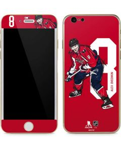 Alex Ovechkin #8 Action Sketch iPhone 6/6s Skin
