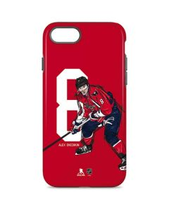 Alex Ovechkin #8 Action Sketch iPhone 8 Pro Case