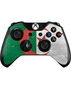 Algeria Flag Distressed Xbox One Controller Skin