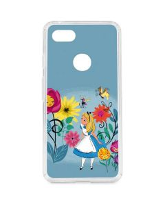 Alice Among The Flowers Google Pixel 3 XL Clear Case