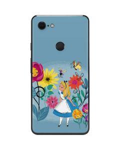 Alice Among The Flowers Google Pixel 3 XL Skin
