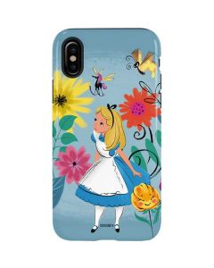 Alice Among The Flowers iPhone XS Max Pro Case