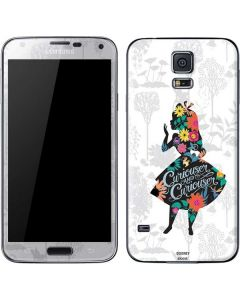 Alice Curiouser and Curiouser Galaxy S5 Skin