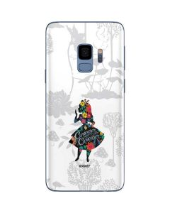 Alice Curiouser and Curiouser Galaxy S9 Skin
