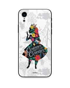 Alice Curiouser and Curiouser iPhone XR Skin
