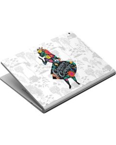 Alice Curiouser and Curiouser Surface Book Skin