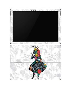 Alice Curiouser and Curiouser Surface Pro 6 Skin