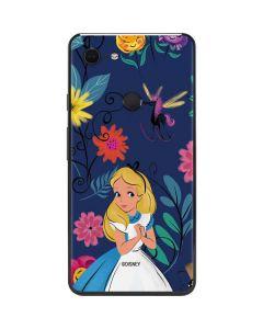 Alice in Wonderland Floral Print Google Pixel 3 XL Skin