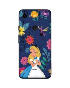 Alice in Wonderland Floral Print Google Pixel 3a Skin