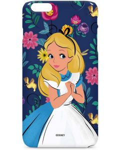 Alice in Wonderland Floral Print iPhone 6/6s Plus Lite Case