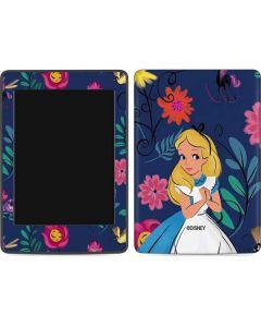 Alice in Wonderland Floral Print Amazon Kindle Skin