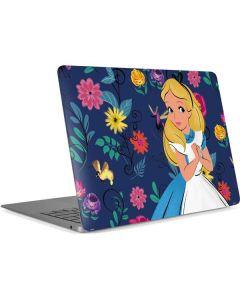 Alice in Wonderland Floral Print Apple MacBook Air Skin