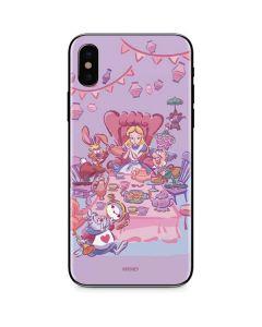 Alice in Wonderland Tea Party iPhone XS Max Skin