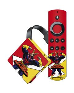 All Might Amazon Fire TV Skin