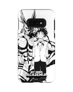 All Might and Deku Black And White Galaxy S10e Pro Case