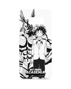 All Might and Deku Black And White Galaxy S8 Plus Lite Case