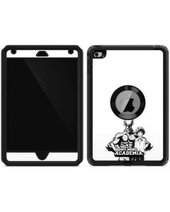 All Might and Deku Black And White Otterbox Defender iPad Skin