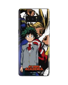 All Might and Deku Galaxy Note 8 Skin
