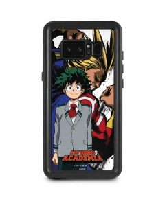 All Might and Deku Galaxy Note 8 Waterproof Case