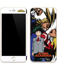 All Might and Deku iPhone 6/6s Plus Skin