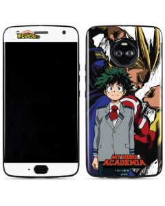 All Might and Deku Moto X4 Skin