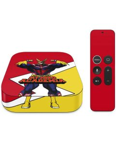 All Might Apple TV Skin