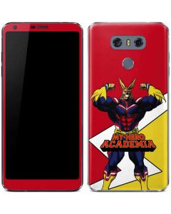 All Might LG G6 Skin