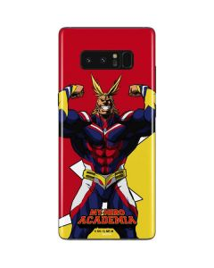 All Might Galaxy Note 8 Skin