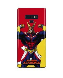 All Might Galaxy Note 9 Skin