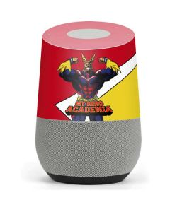 All Might Google Home Skin