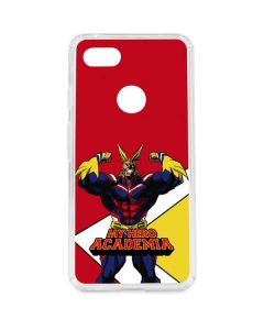 All Might Google Pixel 3 XL Clear Case
