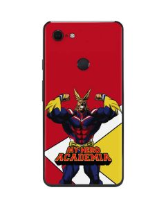All Might Google Pixel 3 XL Skin