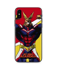 All Might iPhone XS Max Skin
