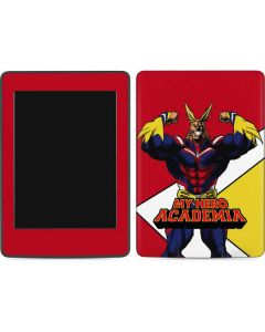 All Might Amazon Kindle Skin
