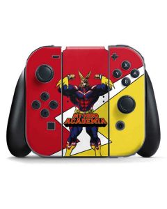 All Might Nintendo Switch Joy Con Controller Skin