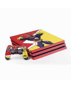 All Might PS4 Pro Bundle Skin